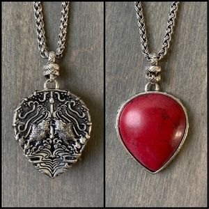 Lucky Brand Double Sided Pendant
